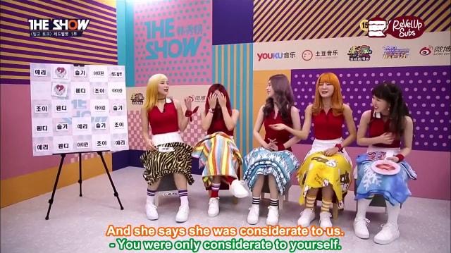 ENG] 160920 Red Velvet – The Show! Bingo Talk – ReVelUp Subs