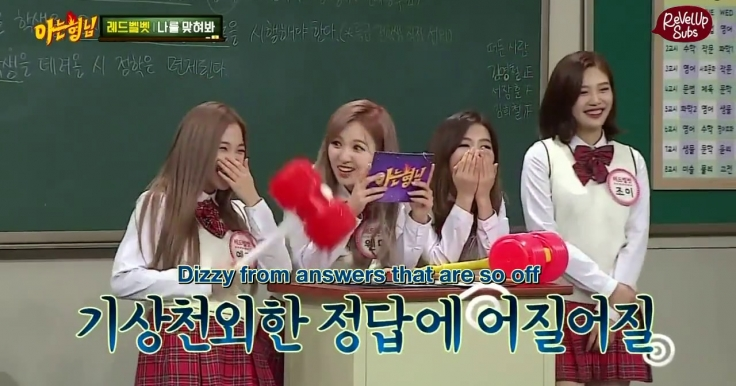 ENG] 160423 Red Velvet – Knowing Bros – ReVelUp Subs